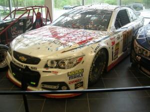 Dale Jr's 2014 Daytona 500 winning car