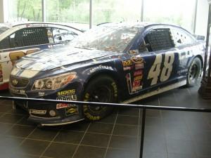 Jimmie's 2013 Daytona 500 winning car