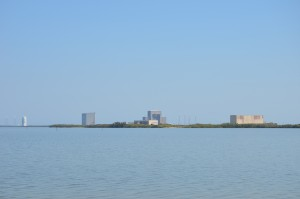 Many NASA structures all over the Cape