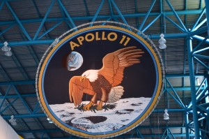 Crest for Apollo 11-The Eagle ended