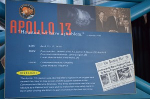 """HOUSTON, """"We have a problem"""" Apollo 13 aborted mission"""