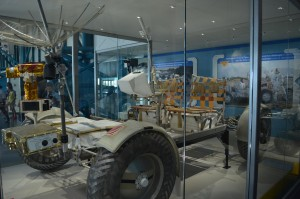 Lunar rover training vehicle