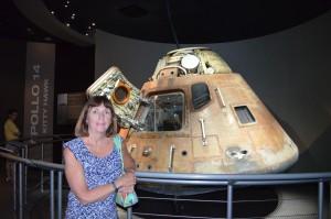 Actual Apollo 14 Lunar Capsule - 3 member crew