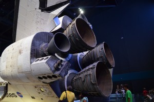 Impressive - boosters on the shuttle