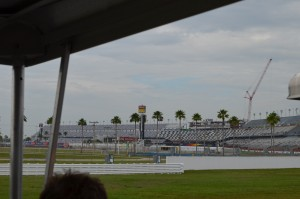 The Grandstands being renovated now with Daytona Rising