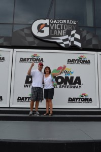 In Victory Lane