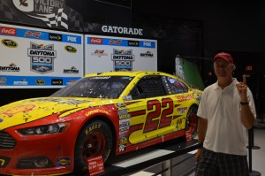Rob with the winning car