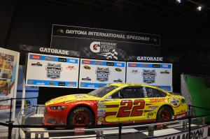 Joey Logano's winning car-February 2015 Daytona 500