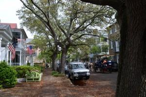 Charming street in Charleston