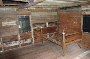 Inside slave house