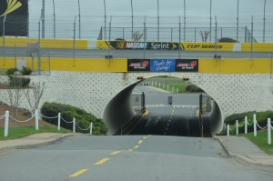The tunnel to exit the track